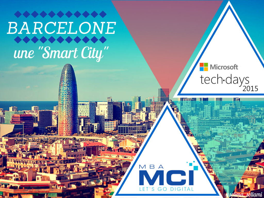 Barcelone, une smart city