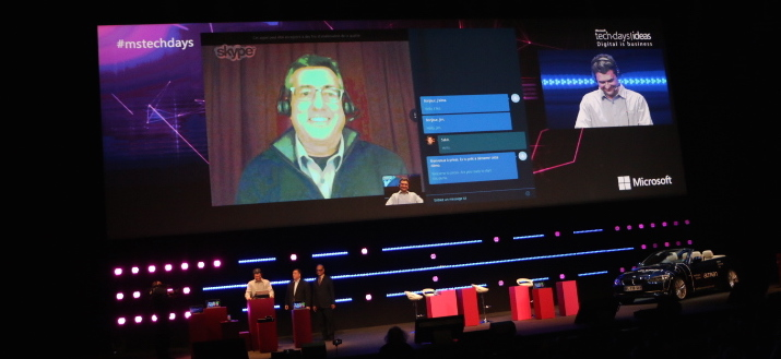 Skype Translator au TechDays 2015