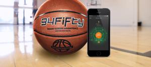94fifty Smart Sensor Basketball