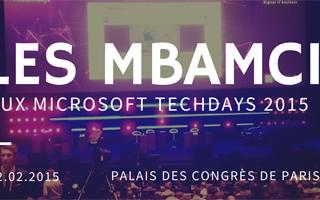 microsoft techdays 2015 mbamci