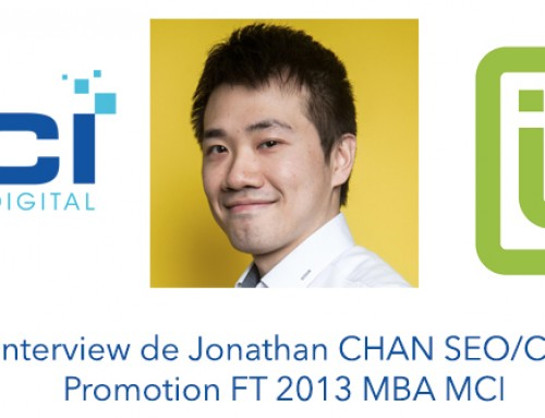 Interview de CHAN Jonathan (@ChanPerco) SEO/CM Promotion 2013 MBA MCI