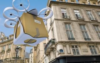 La livraison e-commerce par drone