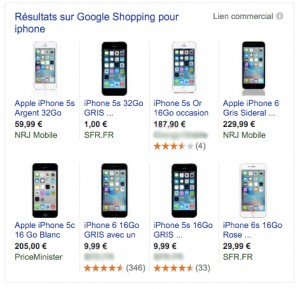 Avis Clients Google Shopping