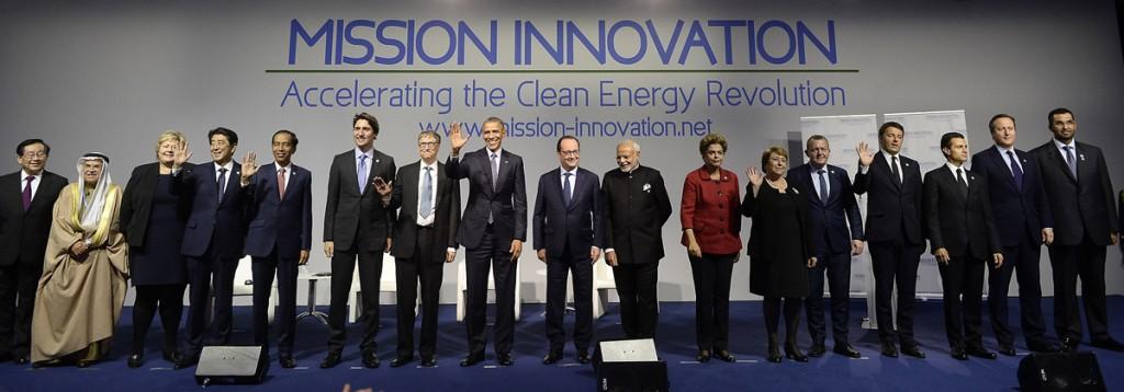 mission innovation COP21