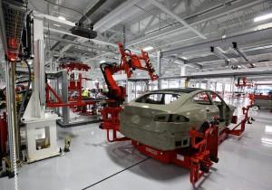 Autobot, usine Tesla