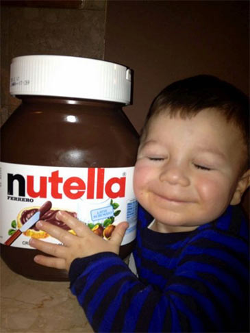 nutella enfant