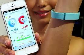 mobile + bracelet