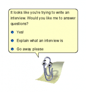 Clippy chatbot