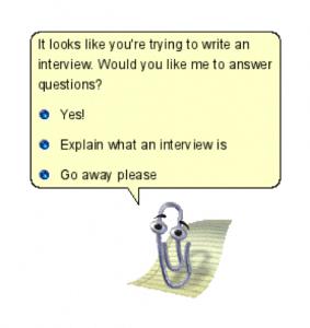 Clippy chatbot