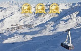 Val Thorens, meilleure station de ski du monde 2016