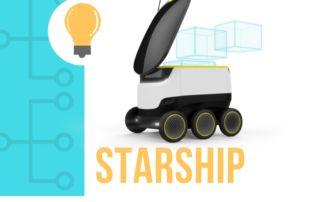 starship robot de livraison autonome et urbain