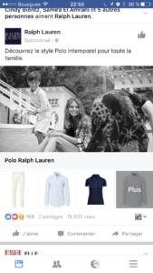 facebook collection e-commerce