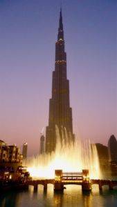 Burj Khalifa spectacle fontaine dubai smart city
