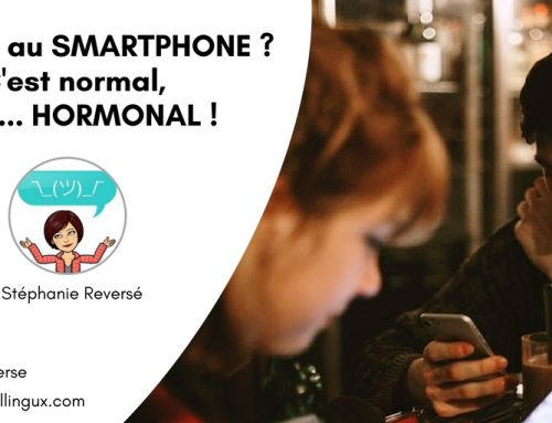 Addicts au smartphone ?  C'est normal, c'est… hormonal !
