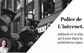 Police d'Internet Adblock