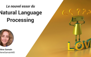 Essor du natural language processing