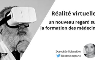 Réalité virtuelle formation médecins