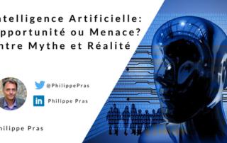 Intelligence Artificielle: opportunité ou menace? Mythe et réalité