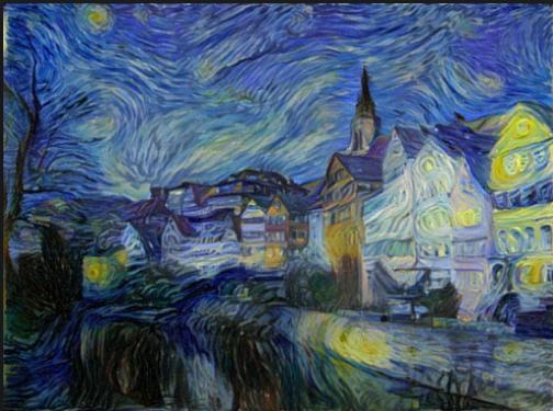Deep art Deep learning