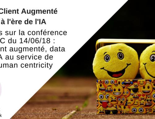 Le client augmenté à l'ère de l'IA : atelier AFRC du 14 juin 2018