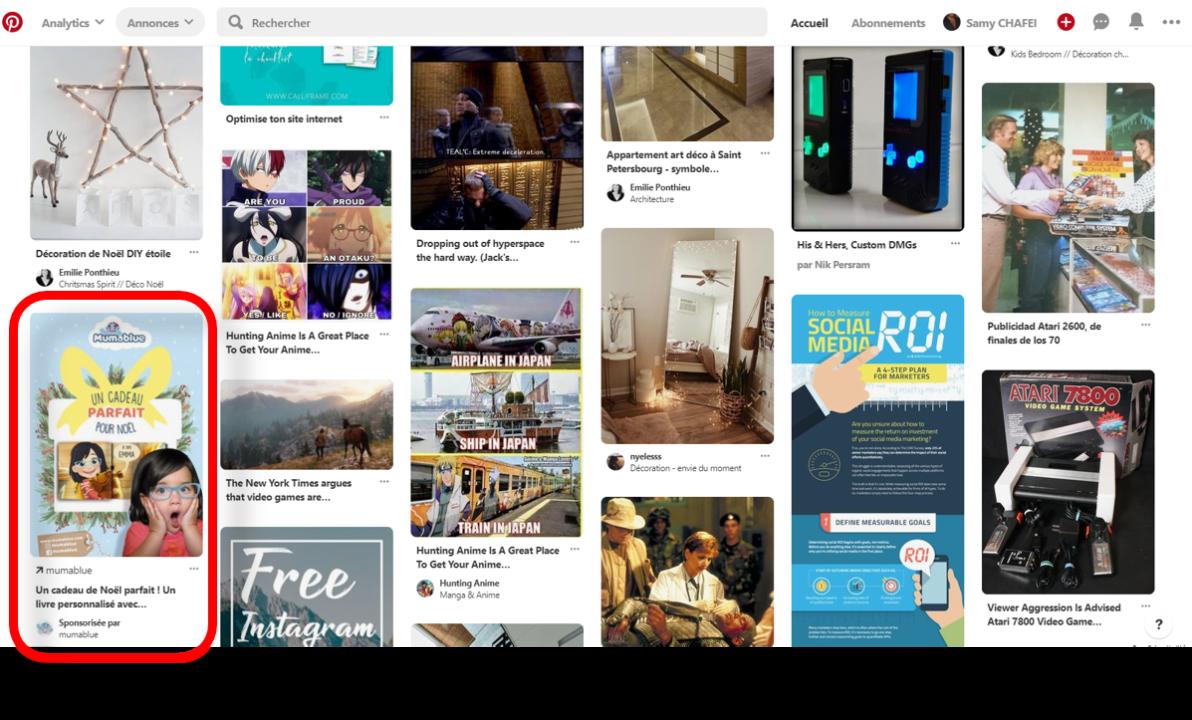 Pinterest ads desktop
