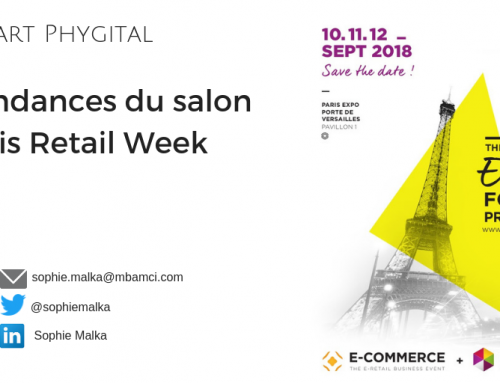 Les tendances du salon Paris Retail Week