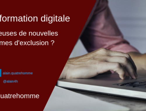 Transformation digitale : promesse d'illectronisme ?