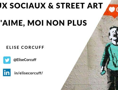 Réseaux sociaux et Street Art, Je t'aime moi non plus !