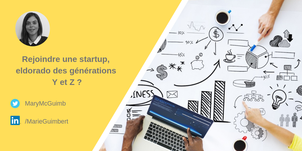 Rejoindre une startup, eldorado des générations Y et Z ?