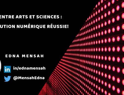 Dialogue entre Arts et Sciences: Une révolution numérique réussie!