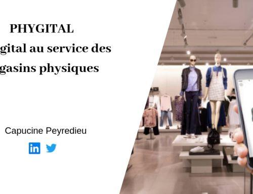 PHYGITAL:  Le digital  au service des magasins physiques