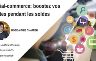 Social-commerce boostez vos ventes pendant les soldes Rose-Marie Chamieh