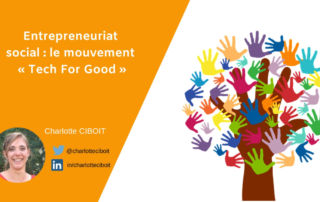 entrepreneuriat social : me mouvement de la Tech for good
