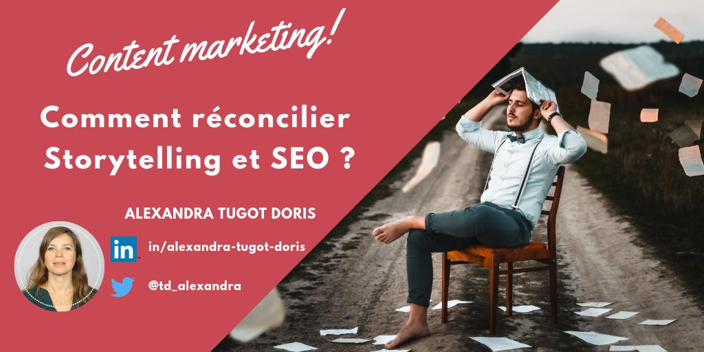 content marketing storytelling SEO