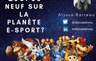 planète e-sport première page