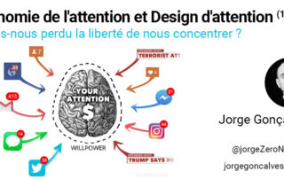 économie de l'attention et design d'attention : avons nous perdu la liberté de nous concentrer ? par Jorge Gonçalves
