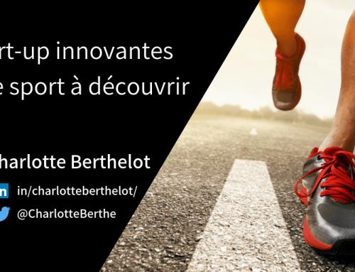 4 start-up innovantes dans le sport à découvrir