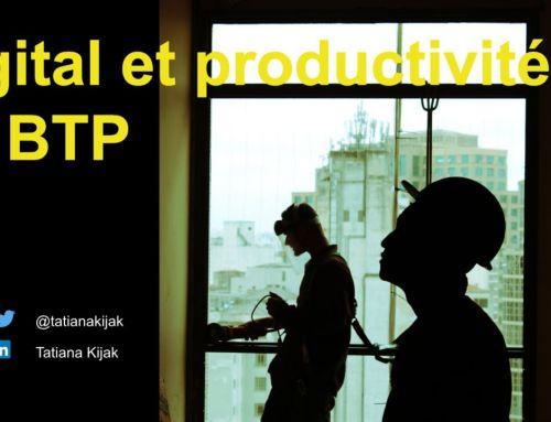 Digital et productivité du BTP, quels liens entre les deux?