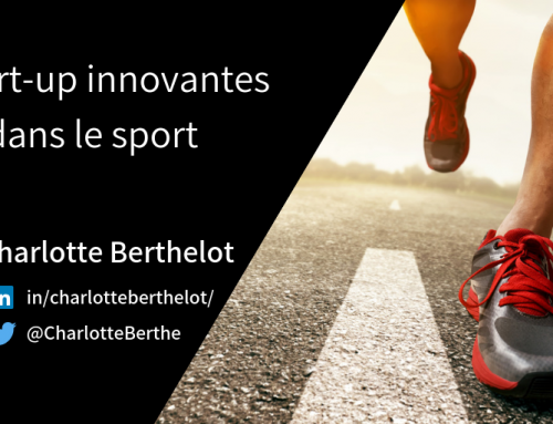 4 start-up innovantes dans le sport