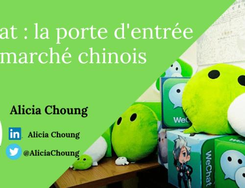 Wechat, la porte d'entrée au marché chinois
