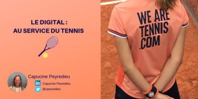 Le digital : Au service du tennis
