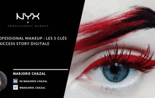 Success story digitale en 5 points clés de NYX Professional Make up