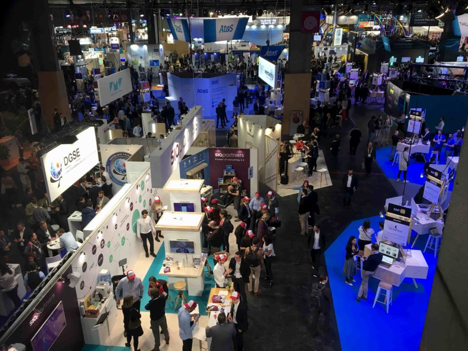 photo du salon Vivatech 2019