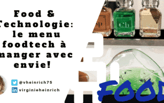 illustration article food et technologie par un cocktail digital signé kuantom