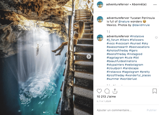Instagram - Inspiration voyage