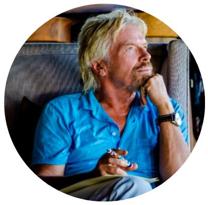 Who's Who de la Tech - Richard Branson, Virgin
