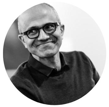 Who's Who de la Tech - Sataya Nadella, Microsoft