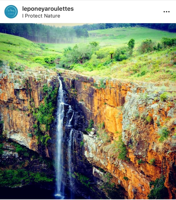 "Photo Instagram avec géolocalisation ""I protect nature"""