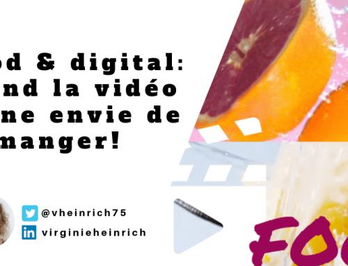 Food et digital : quand la vidéo donne envie de manger!
