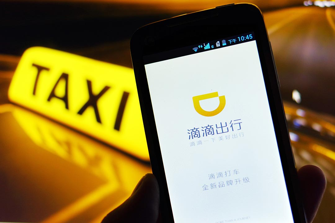 Digital en Chine - Géants chinois TMD DIDI CHUXING 滴滴出行 Taxi